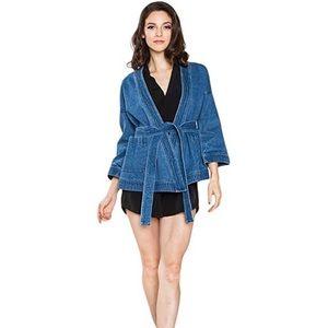 Sugarlips 3/4 Wide sleeve denim jacket